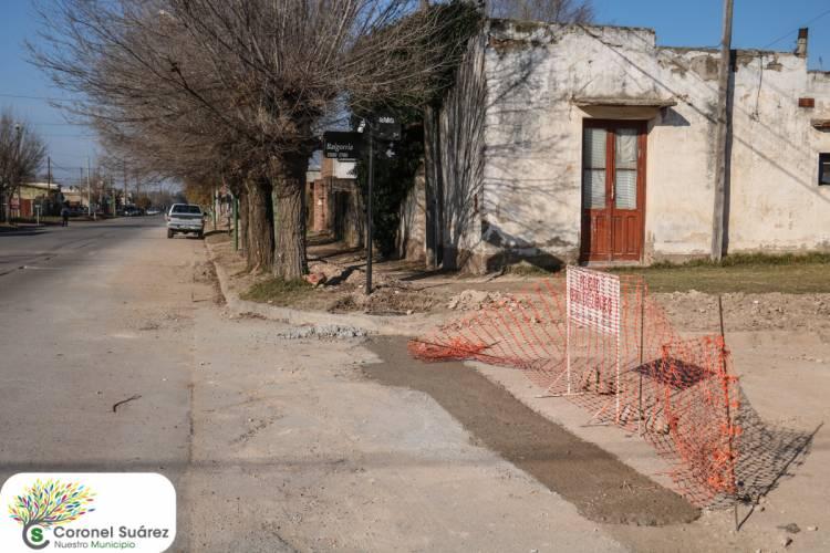 Avanza la obra de cloacas en el Barrio San Martín