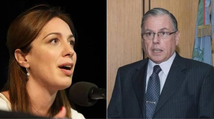 """El presidente de la Corte bonaerense habló de """"causas armadas"""" y Vidal salió al cruce"""