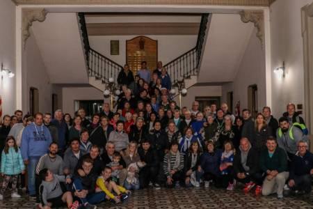 El intendente Roberto Palacio recibió a la delegación suarense de adultos que participó en los Juegos Bonaerenses 2019