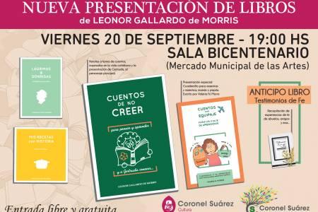 """Leonor Gallardo y su hija Valeria Morris presentan el libro """"Cuentos de no creer"""""""
