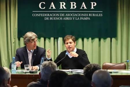 La relación de Kicillof con el campo: cuál es el plan del candidato del Frente de Todos para reactivar la producción en la provincia de Buenos Aires