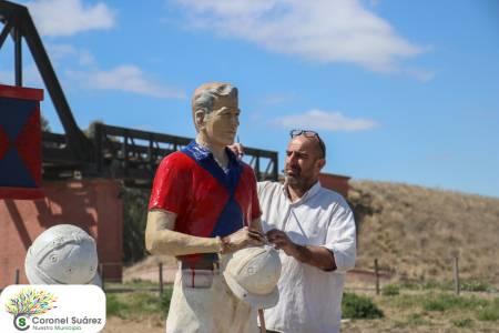 Restauración y puesta en valor de la escultura del reconocido Juan Carlitos Harriott