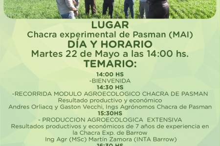 Se acerca una nueva jornada de Agroecología