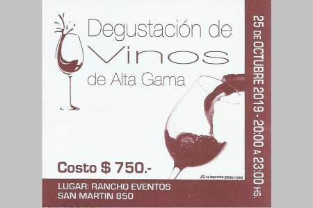 ¡Este viernes, degustación de vinos!