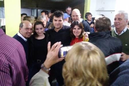 Coronel Suárez: después del triunfo, Moccero comenzó a moverse