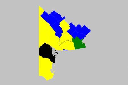 Mirá los resultados en todos los distritos de la Sexta Sección Electoral