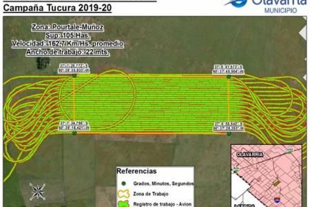 Se realizó la primera aplicación del controlador biológico para la tucura en Buenos Aires