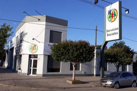 Inauguración de los servicios sociales de la Cooperativa Eléctrica San José en Coronel Suárez