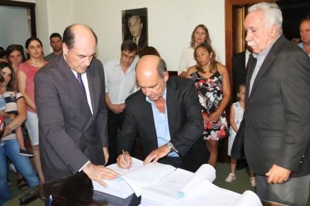 Moccero recibió el ejercicio económico, contable y patrimonial del Municipio