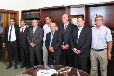 El intendente Ricardo Moccero presentó a los delegados municipales