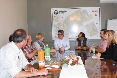 La reactivación de los créditos, en la agenda de desarrollo agrario