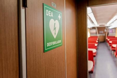 Los trenes a Bahía Blanca y Mar del Plata ya cuentan con desfibriladores a bordo