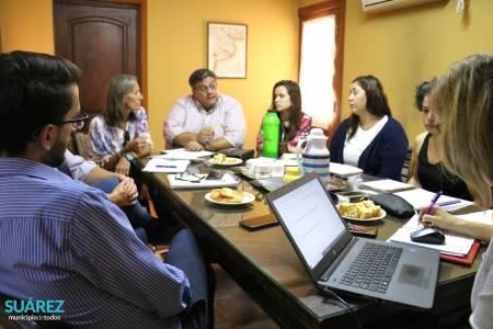 Reunión de trabajo con el equipo técnico de Turismo y Cultura de la provincia de Buenos Aires