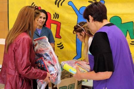Campaña de donación de útiles escolares y kits de higiene para el inicio de clases