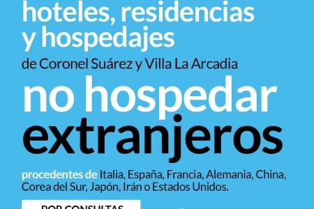 Atención destinos turísticos: disposiciones con respecto al coronavirus