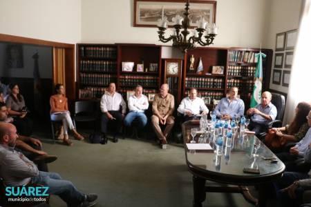 Reunión de representantes de Región Sanitaria I en Coronel Suárez