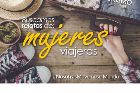 """Convocatoria para las MUJERES del distrito: """"Relatos de mujeres viajeras"""""""