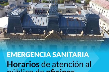 Emergencia Sanitaria: restricciones en atención al público