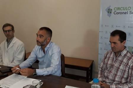 Conferencia de Prensa del Círculo Médico de Coronel Suárez