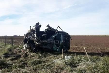Falleció un joven deportista después de un vuelco en la Ruta 67