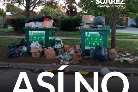 Cuidemos el orden y la limpieza de nuestra ciudad