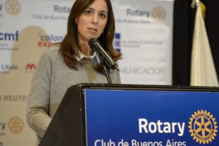 """Vidal descartó ser candidata en 2019: """"Mauricio va a reelegir"""""""