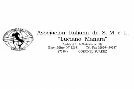 """La Asociación Italiana de Socorros Mutuos """"Luciano MANARA"""" reabre su sede administrativa"""