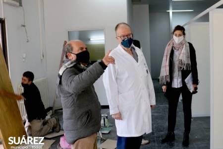 Avanzamos en la ampliación del Hospital Doctor Raúl Caccavo en la manzana de la Salud