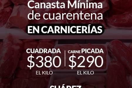 Canasta Mínima de Cuarentena en Carnicerías