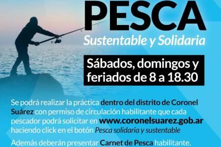 Se habilitará la Pesca Sustentable y Solidaria