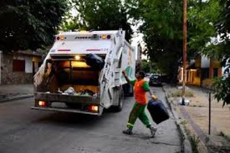 Recolección normal de Residuos el lunes 25 de mayo