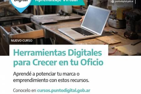 Curso virtual: Herramientas digitales para crecer en tu oficio