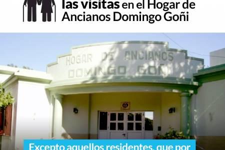 Comunicado del Hogar de Ancianos Domingo Goñi