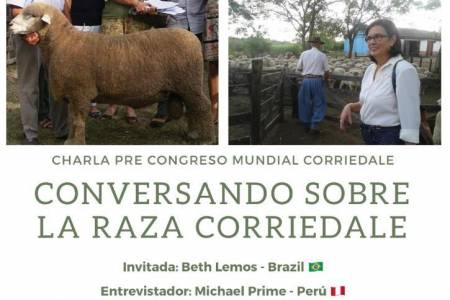 Charla pre Congreso Mundial Corriedale - Conversando sobre la raza Corriedale