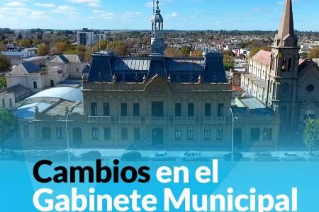 Cambios en el Gabinete Municipal