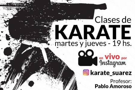 La Escuela Municipal de Karate te invita a prácticas virtuales