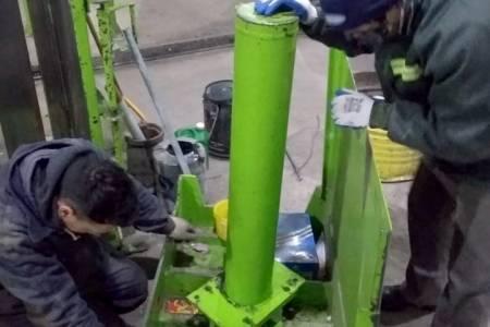 Mantenimiento general en la Planta de Reciclado