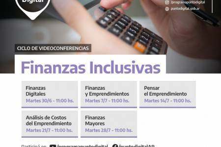 """Ciclo de videoconferencias sobre """"Finanzas Inclusivas"""""""