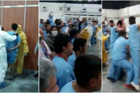 Incidente en Costa Salguero