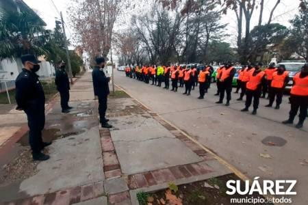 Más seguridad – megaoperativo policial en la ciudad
