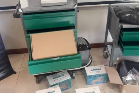 Smurfit Kappa entregó instrumental y equipamiento al hospital municipal