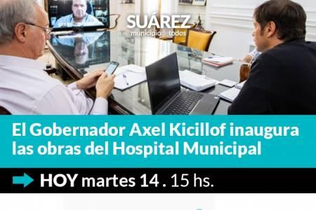 """Inauguración de las obras de ampliación y puesta en valor del Hospital Municipal de Coronel Suárez """"Doctor Raúl Caccavo"""""""