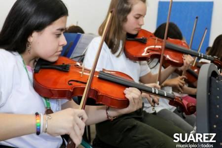 Escuela Municipal de Música: Retoman las clases presenciales y virtuales