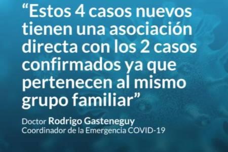 Rodrigo Gasteneguy nos explica cómo evoluciona el brote por Covid-19 que se registró en Coronel Suárez