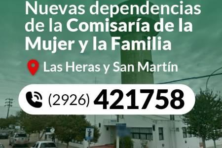 Informa la Comisaría de la Mujer y la Familia