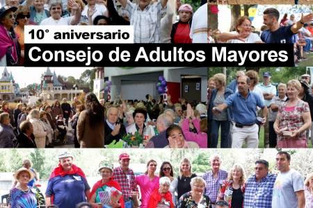 10° aniversario del Consejo de Adultos Mayores - 10/08/2010 – 10/08/2020