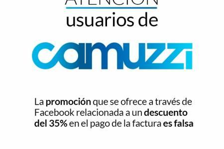 Atención usuarios de Camuzzi