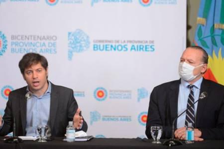 Axel Kicillof anunció que el nuevo salario mínimo de la Policía Bonaerense será de $44.000