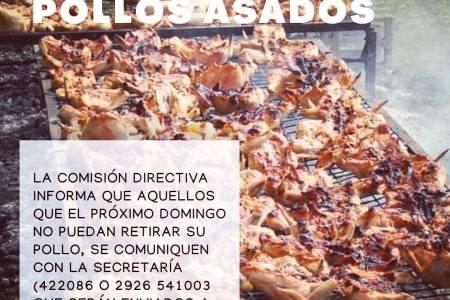 Entrega de pollos asados - Centro Blanco y Negro