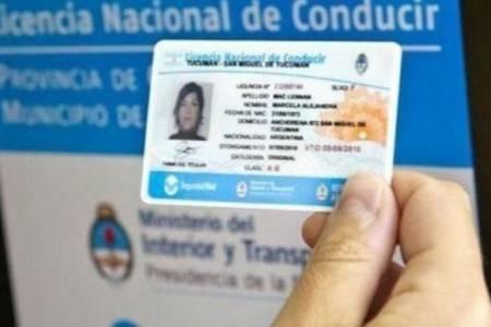 Prorrogaron el vencimiento de las licencias de conducir